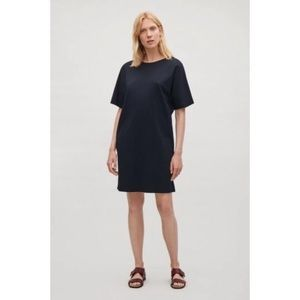 COS Black Shift Dress Tunic Size 4